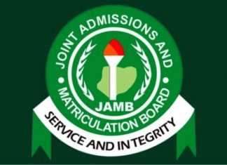 JAMB form 2019